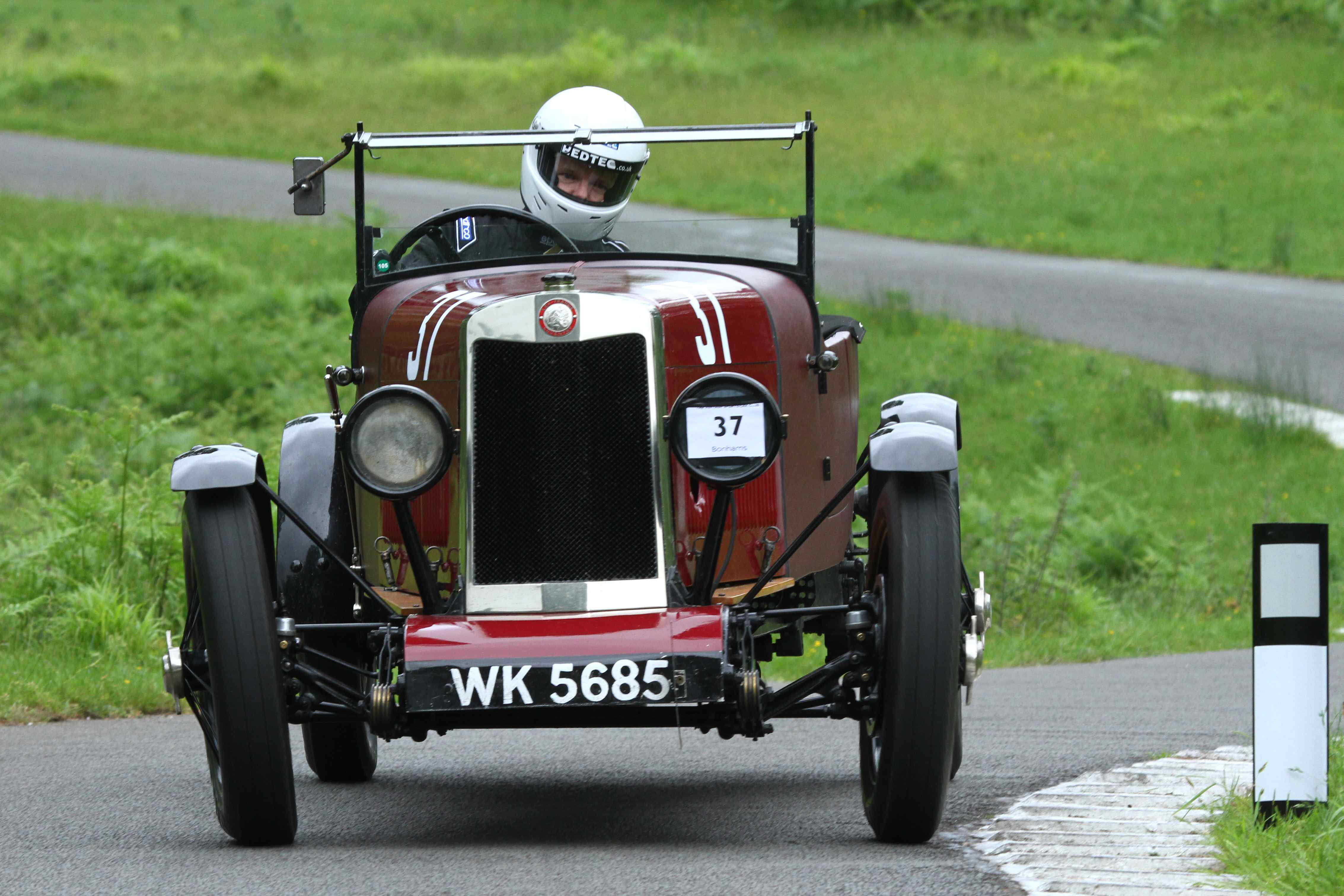 Colin Poynter at VSCC Loton Park