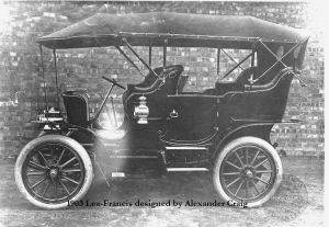 The First Lea-Francis Motor Car - 1903