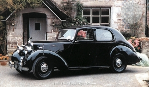14hp Four-Light Saloon 1946-50