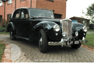 14hp Four-Light Saloon 1951-53