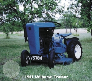 Unihorse Tractor 1961-62 (by Lea-Francis)